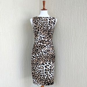 Cache Animal Leopard Print Dress - 4